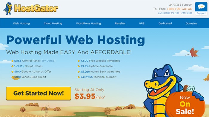 hostgator web host