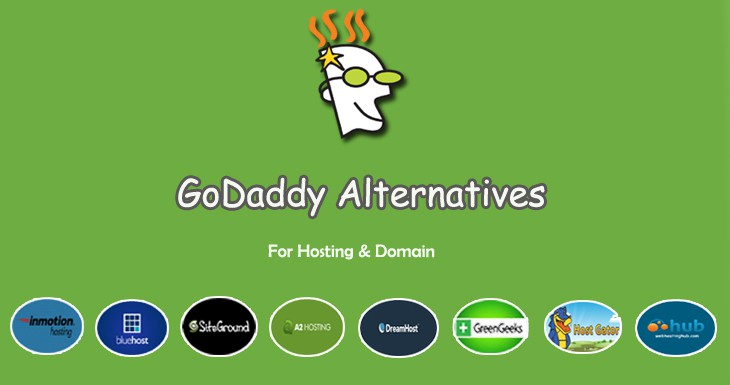 best godaddy alternatives 2017