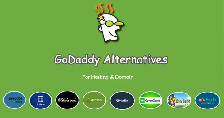 best godaddy alternatives 7+