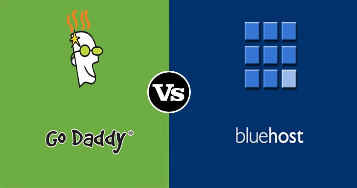 BlueHost vs GoDaddy Comparison