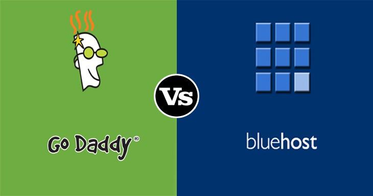 BlueHost vs GoDaddy Comparison