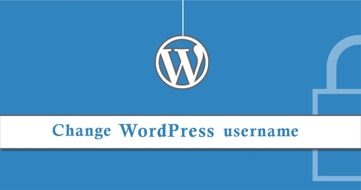 change username at wordpress by 3 ways