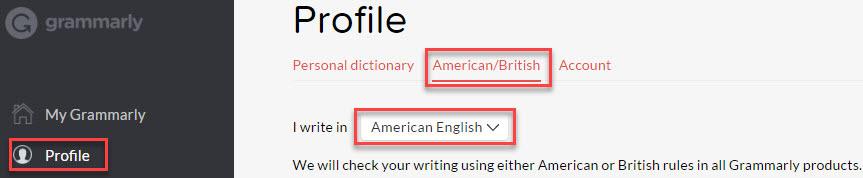 British and US language styles