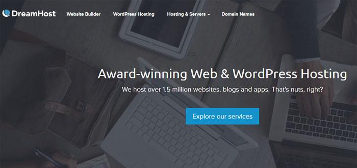 DreamPress WordPress hosting - DreamHost