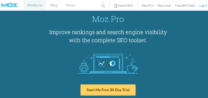 MOZ best link building tool