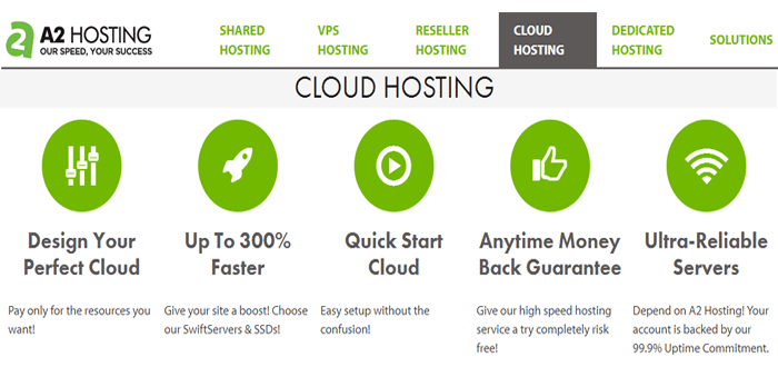 A2 cloud vps with customized plan