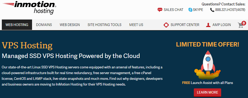 InMotion Cloud VPS hosting review