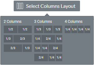 column layouts